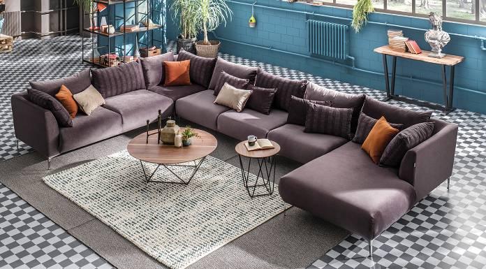 Functional Elegance with Enza Home Corner Sofa Models